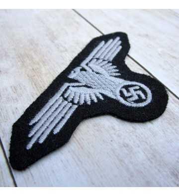 Águila SS de brazo para tropa, lana