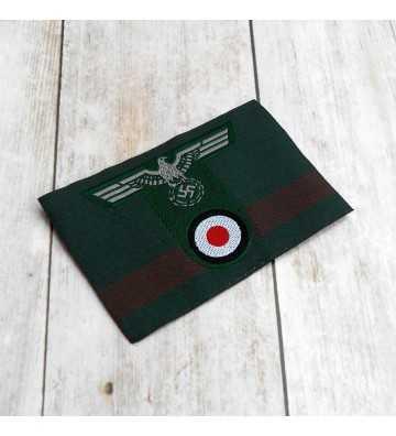 Gebirgsjäger man's woven cap insignia