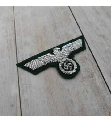 Wehrmacht Army Officers hand embroidered cap eagle