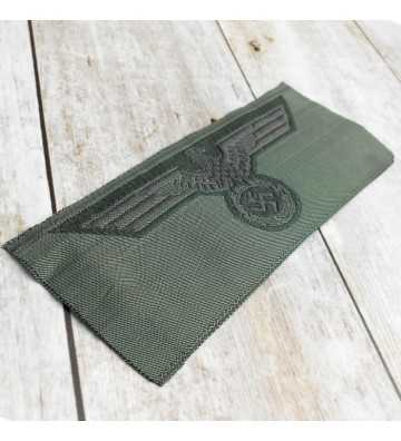 Army enlisted man's silk woven breast eagle 1940