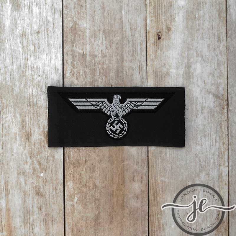 Panzer enlisted man's silk woven breast eagle