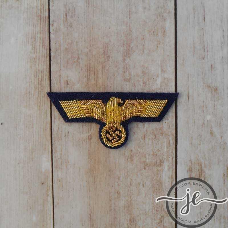 Águila de gorra para oficiales de la Kriegsmarine