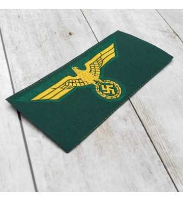 Coastal Artillery enlisted man's silk woven breast eagle