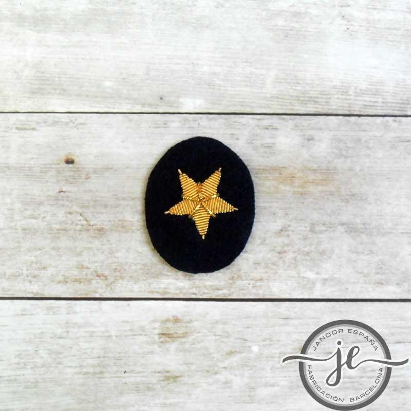 Estrella bordada del oficial de Kriegsmarine