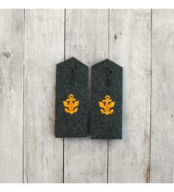 Kriegsmarine Coastal Artillerie EM Shoulder boards