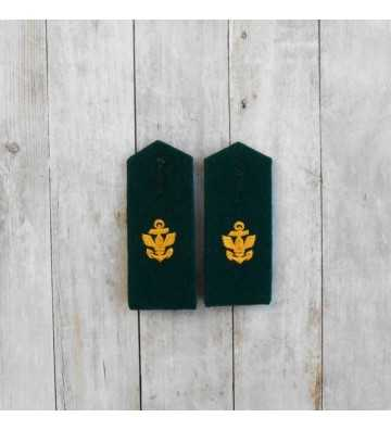 Kriegsmarine Coastal Artillery EM M35 Shoulder boards