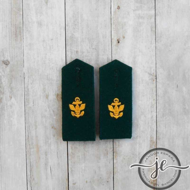 Kriegsmarine Coastal Artillerie EM M35 Shoulder boards