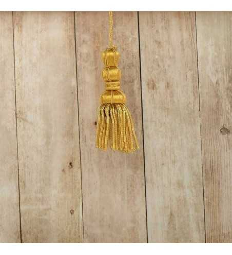 French gold tassel 5 cm with fringe 5 cm