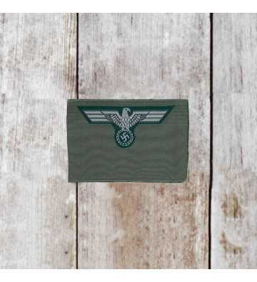 Wehrmacht Army enlisted mans silk woven cap eagle 1939