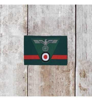 Waffen-SS Collar Tab Rank Tresse