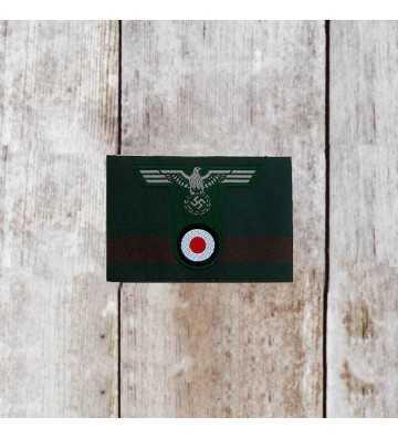 Águila de gorra Wehrmacht de tropas de montaña