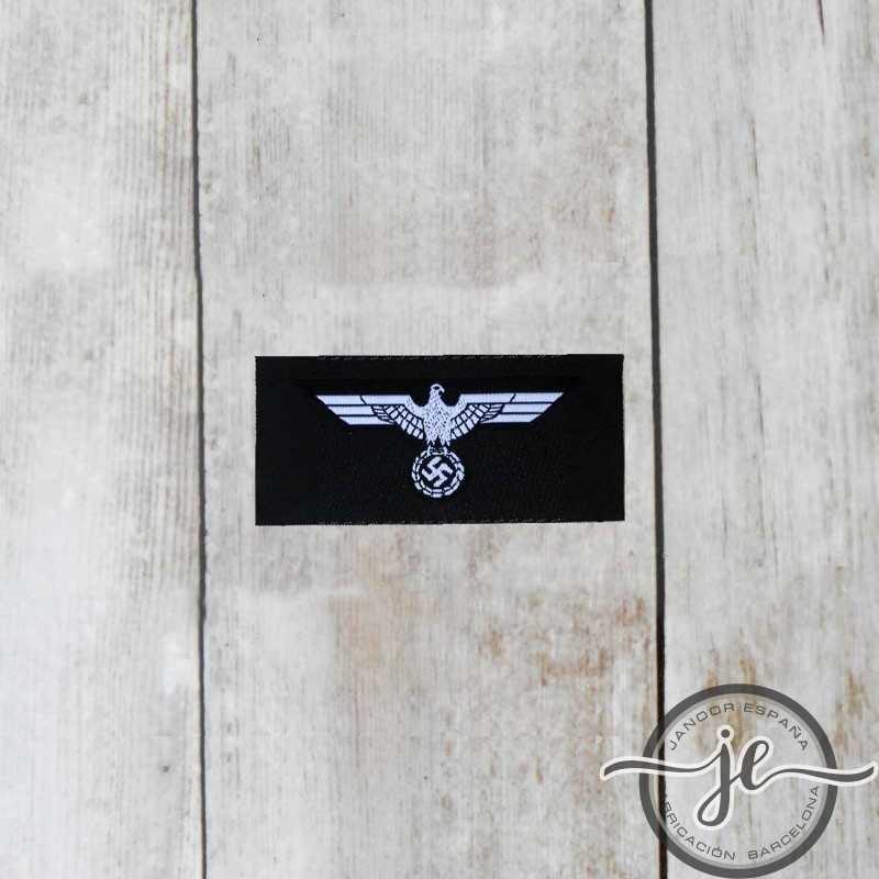 Panzer enlisted man's silk woven cap eagle