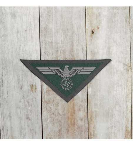 Army enlisted man's silk woven breast eagle 1944