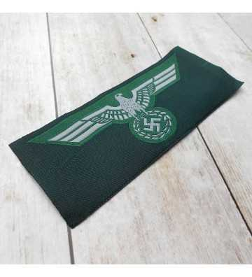 Wehrmacht silk woven breast eagle