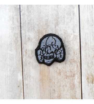 SS enlisted embroidered cap skull