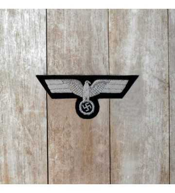 Panzer Officer's hand embroidered breast eagle