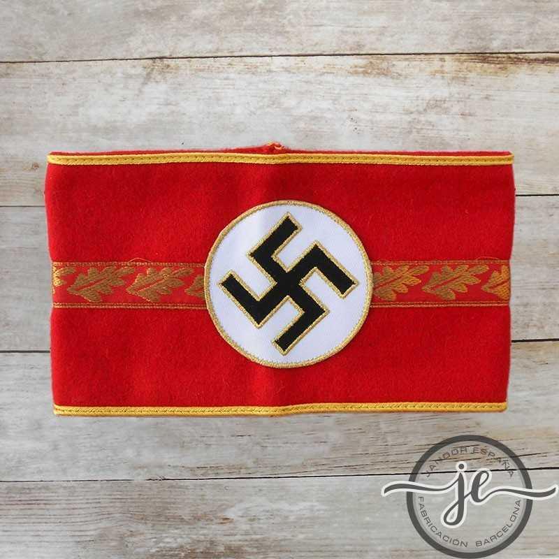 Brazalete del NSDAP para jefes municipales