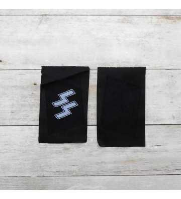 SS enlisted man's rune collar patches (Be-Vo)