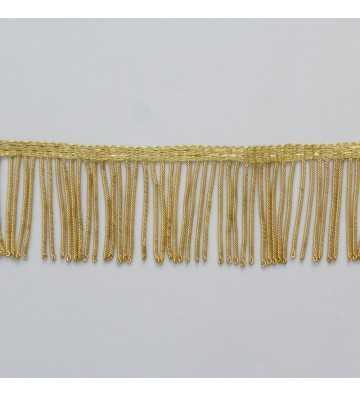 Fleco de canutillo de oro francés metálico