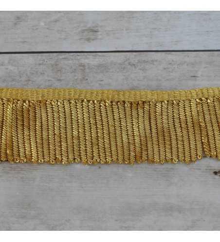 Fleco de canutillo de oro francés metálico con grosor