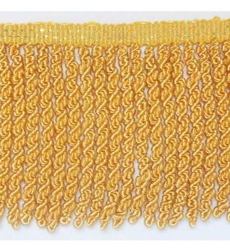 Fleco de oro francés con gusanillo