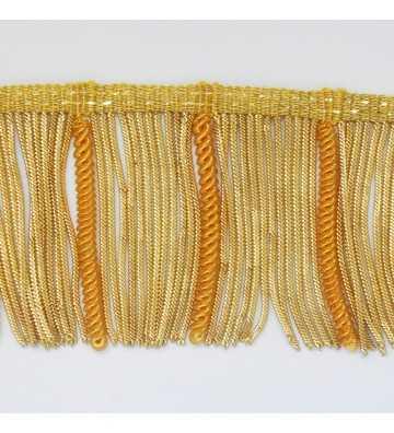 Fleco de oro francés rizado