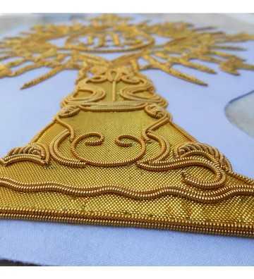 Custody handmade embroidery