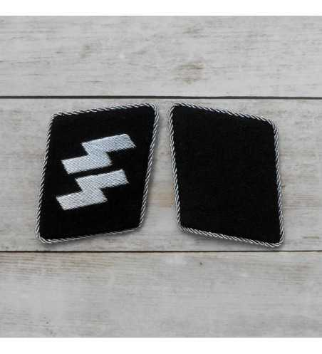 SS Officer rune collar patches