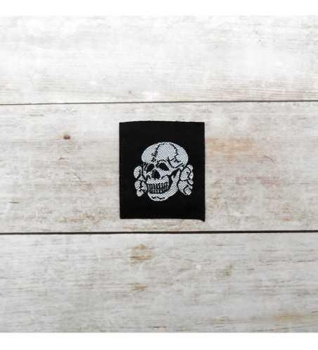 Waffen-SS Officers silk woven cap skull
