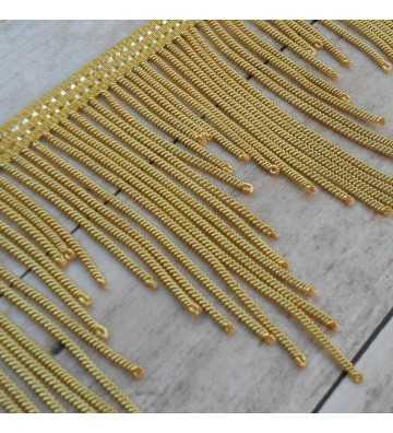 Flecos de canutillo de oro francés metálico desigual