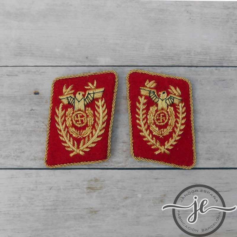 NSDAP Gauleiter & Reichsleiter 1939 collar tabs