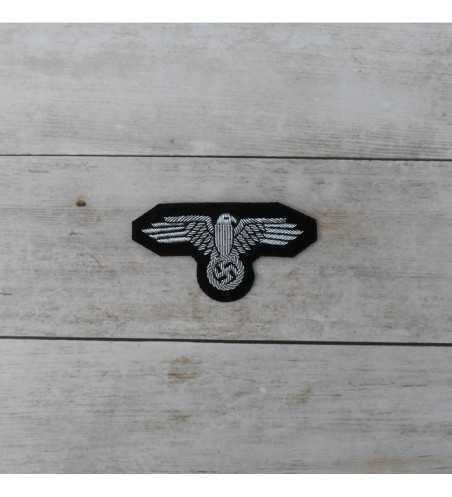 Águila de gorra Waffen SS, Oficiales Bordada