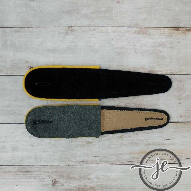 Black EM Shoulder boards, cavalry