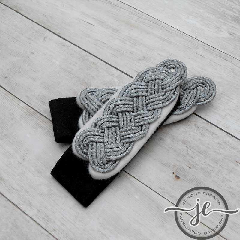 Hombreras SS Comandante Infantería (coser)