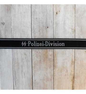 SS-Polizei Division EM Cuff Title